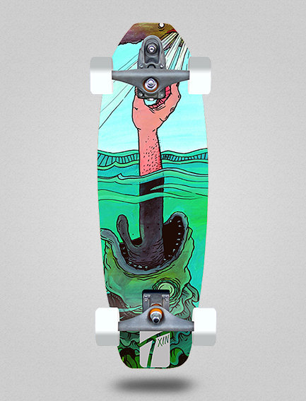 Txin surfskate - Treasure 31.5