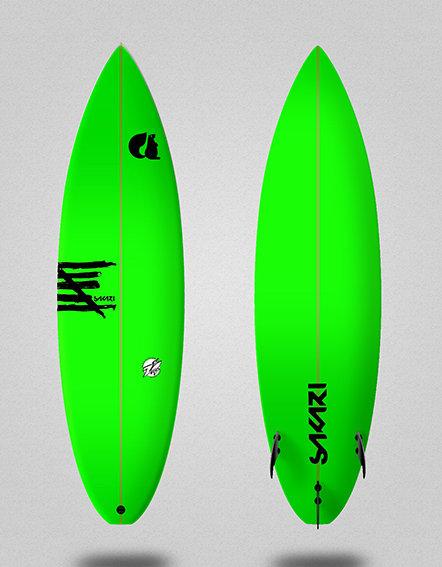 Sakari surfboard - Model Poison