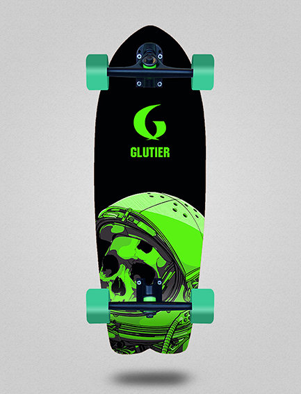 Glutier cruiser: Space mirror green 29
