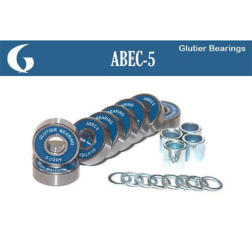 Glutier abec 5 bearings set