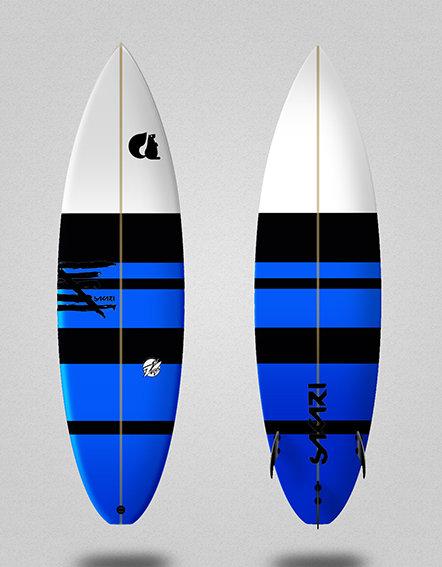 Sakari surfboard - Model Shape 011