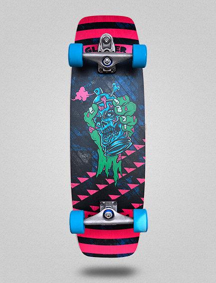 Glutier surfskate : Spray hand 31.5
