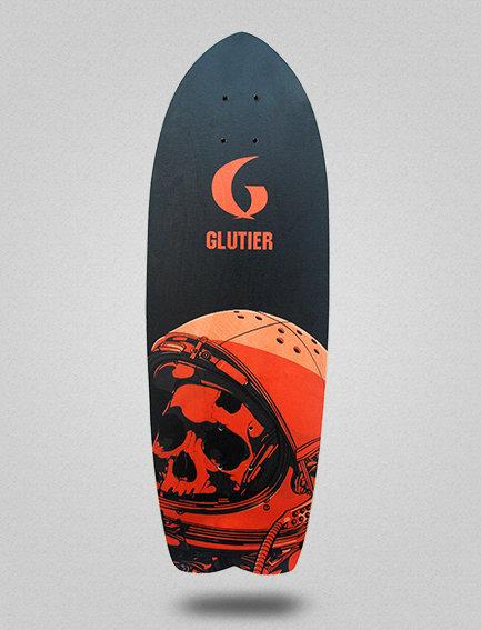 Glutier deck: Space mirror orange 29