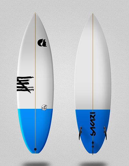 Sakari surfboard - Model Shape 002