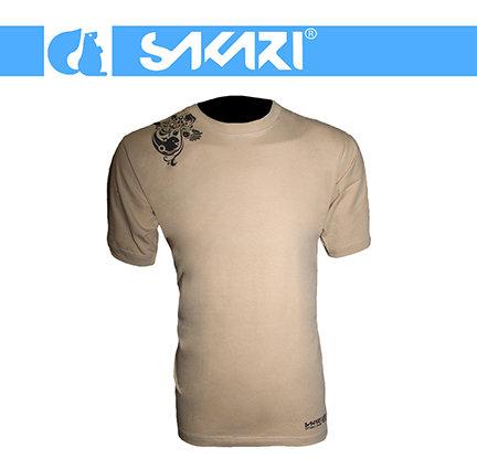 Sakari t-shirt - Octo should brown