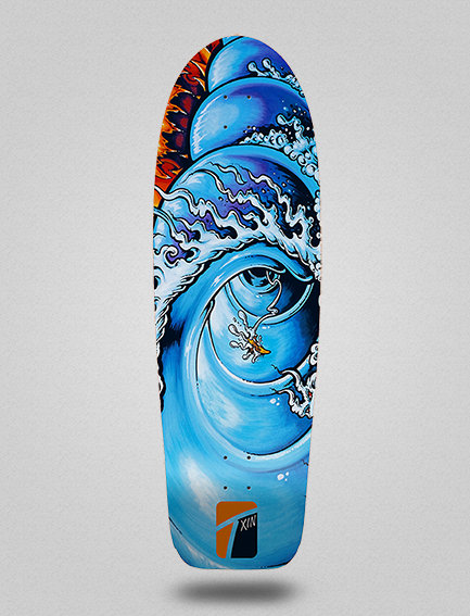Txin deck - Fire barrel 30.5