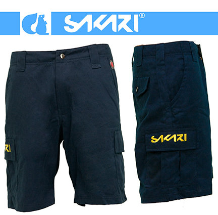 Sakari clothing - Short jeans pocket navy