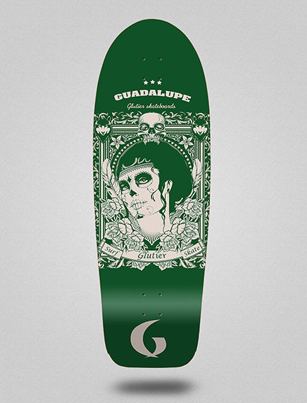 Glutier deck: Guadalupe green 30,5