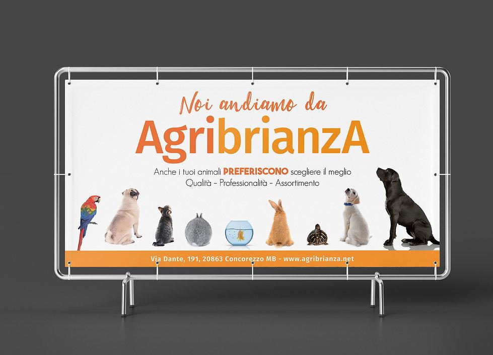 Cartellone Mockup design grafica animali
