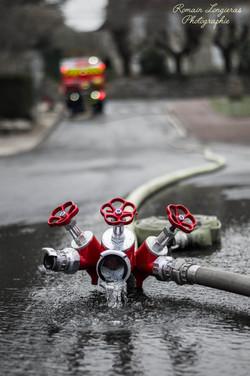 une photographie de pompier