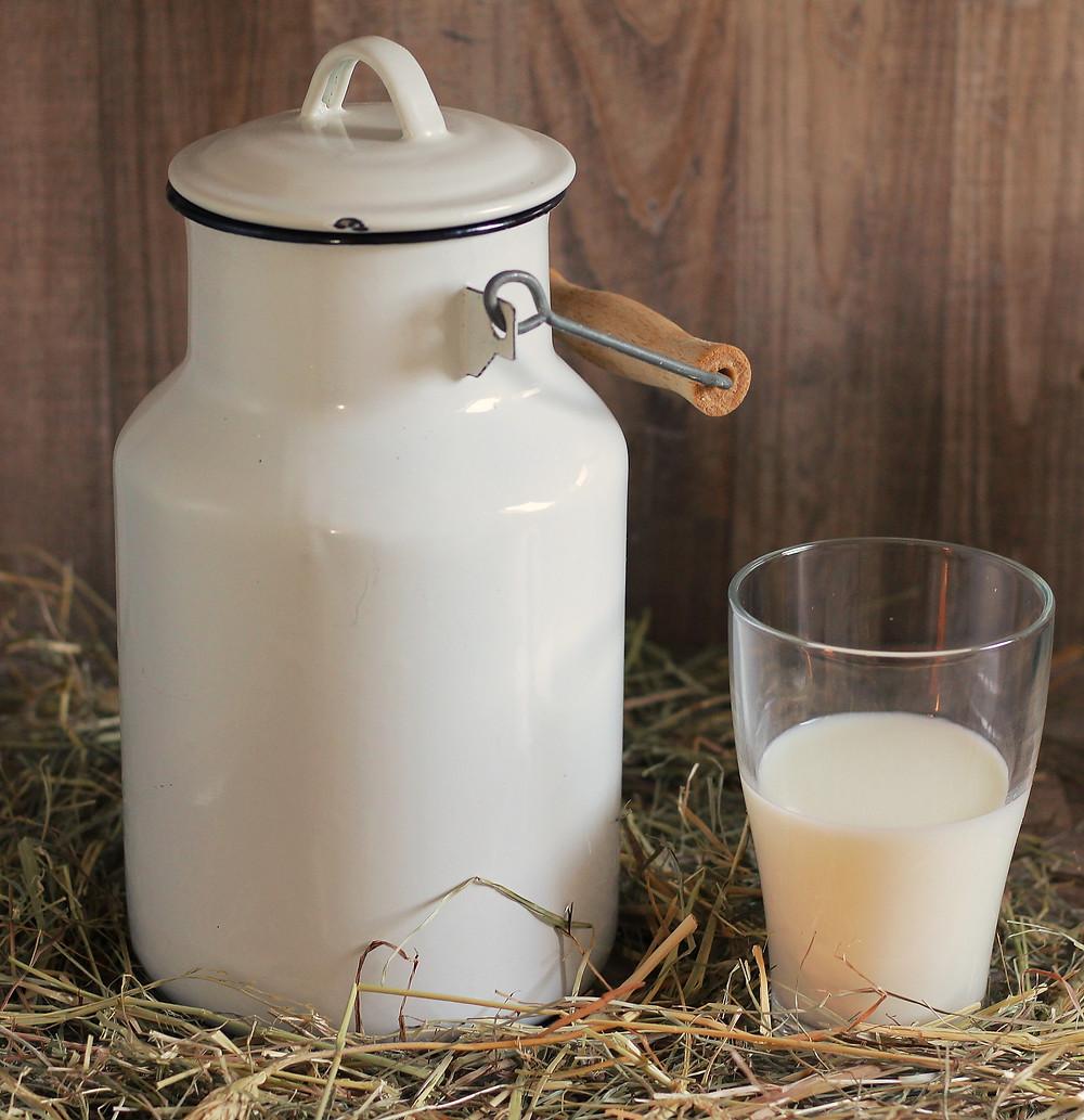 כוס חלב חם לפני השינה