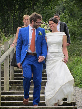 French country wedding, make-up