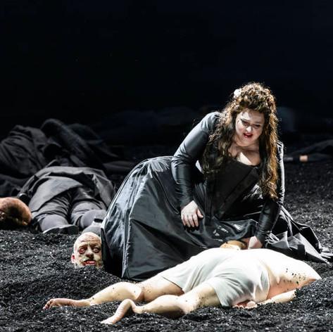 Glyndebourne, Saul, Karina Gauvin playing Merab