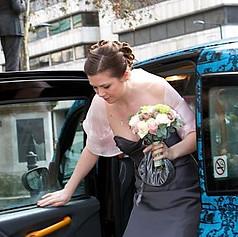 Pretty bridesmaid make-up & hair