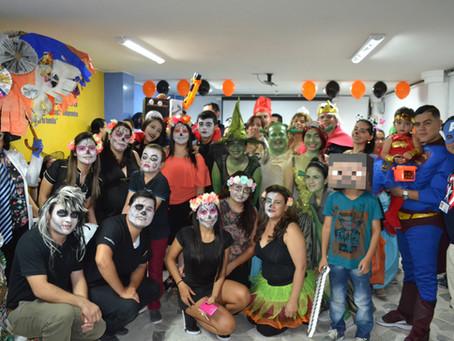 Celebración Día de Halloween en Clínica Medilaser