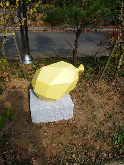 polygon balloon- yellow