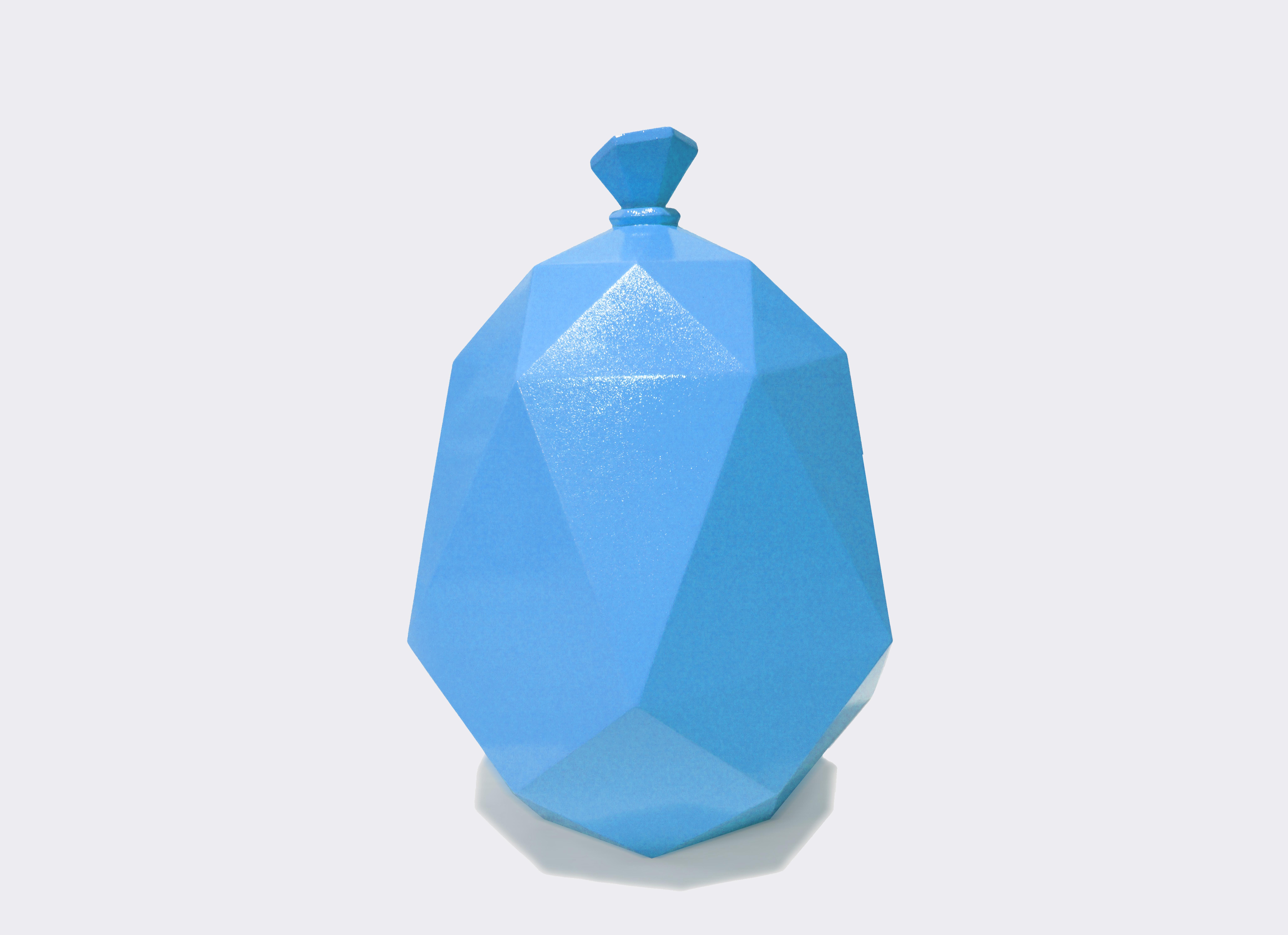 Polygon Balloon - Blue