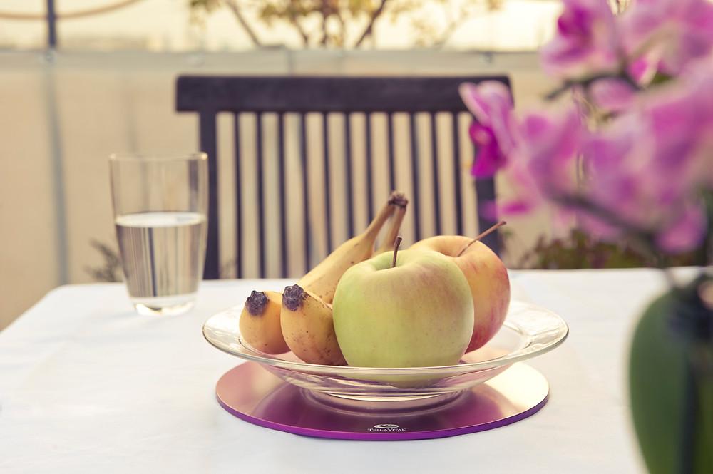 Obst und Gemüse – frisch von der Teslaplatte