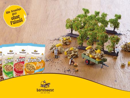 Krunchy Joy von Barnhouse: Weniger Zucker, mehr Regionalität, ohne Palmöl