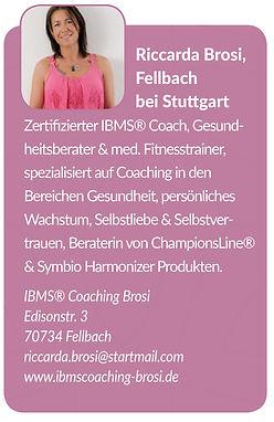 Coach Riccarda Brosi