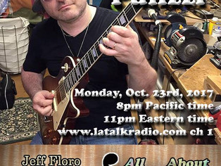 Tony P on the All About Guitar Podcast!