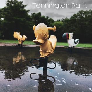 Tony P records with Tennington Park!