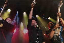 With Dave Koz and Nate Kearney