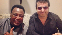 Tony P hits the road with George Benson!!