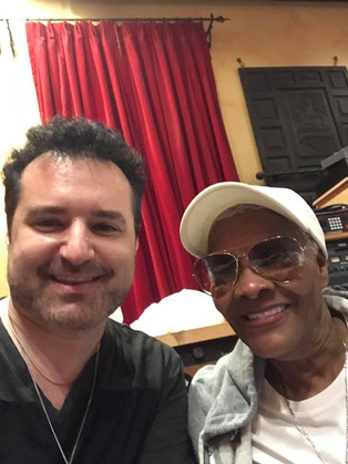 Tony P records with Dionne Warwick!