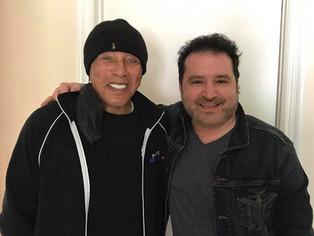 Tony P records with Smokey Robinson!