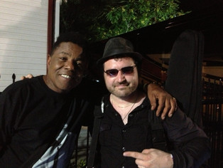 Tony P hits with Tito Jackson!