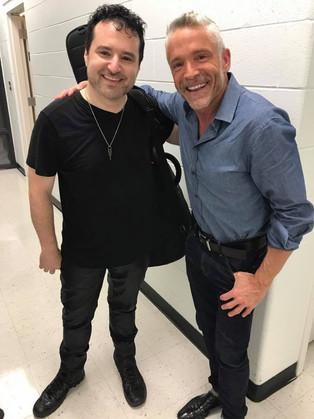Tony P hits with Dave Koz !