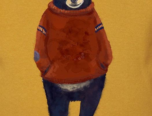 Unisex Sweater - Winterbear