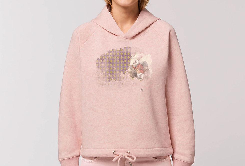 Modernstyle Hoodie innen flauschig -Rabbit Wonderland