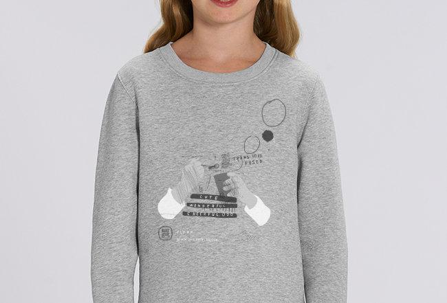Mädchen Sweatshirt- Seifenblasen