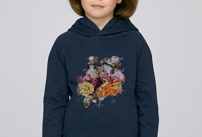 Mädchen Hoodie- Blossom