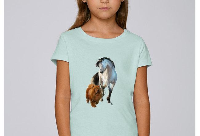 Mädchen T-Shirt - Freundschaft