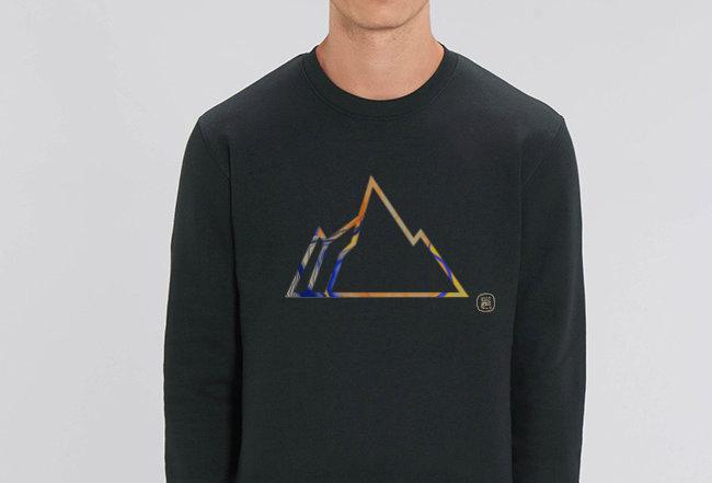 Basic Sweatshirt - COLORFUL MOUNTAIN