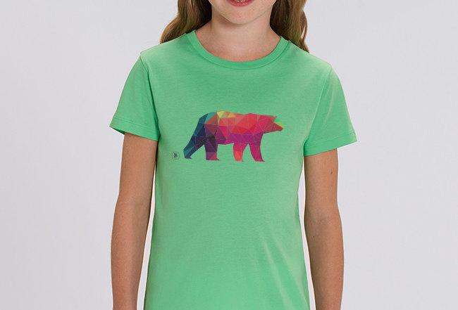 Mädchen T-Shirt- Polarbär
