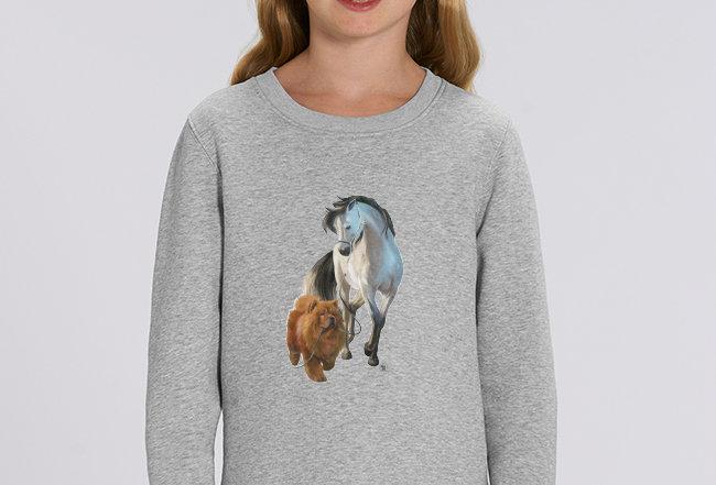 Mädchen Sweatshirt - Freundschaft