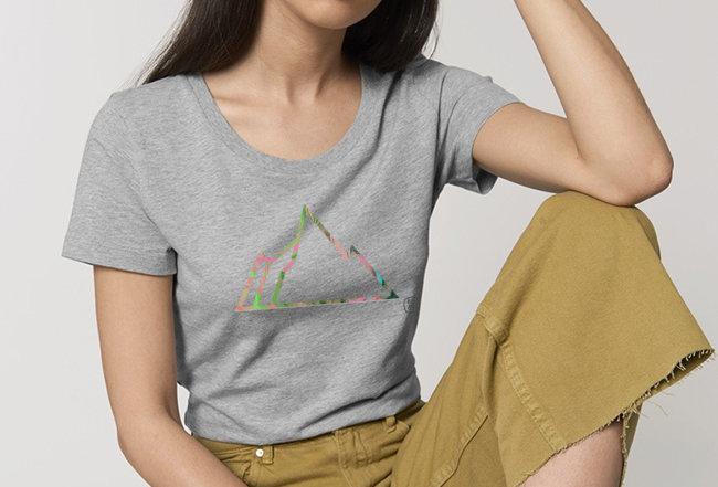 Basic T-Shirt - Reine Biobaumwolle - NEON MOUNTAIN