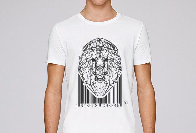 Basic T-Shirt - Lion Code