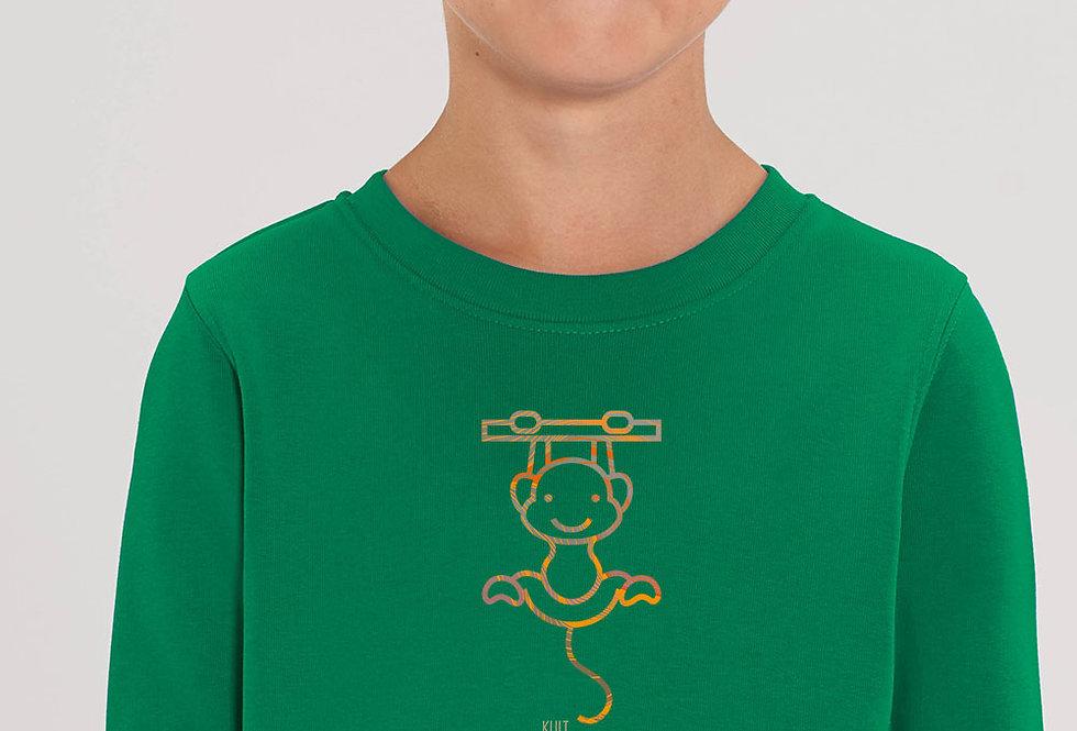 Unisex Sweatshirt-Monkey