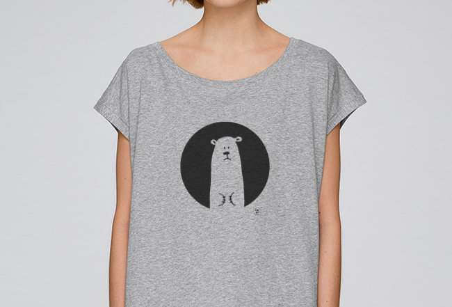 Oversize T-Shirt  - Icebear