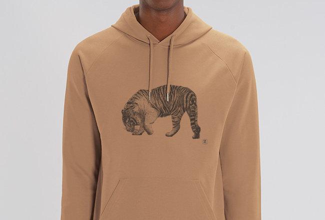 Basic Hoodie - Tiger