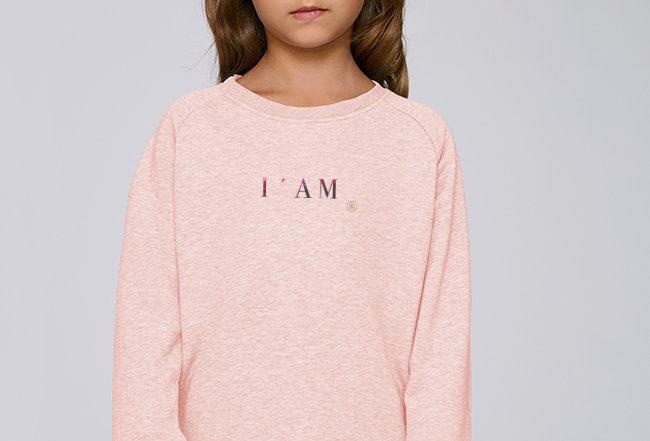Mädchen Sweatshirt - I'AM