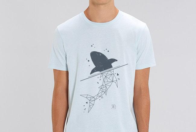 Basic T-Shirt - Shark