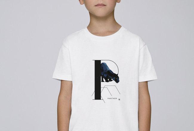 Jungen T-Shirt - Panther