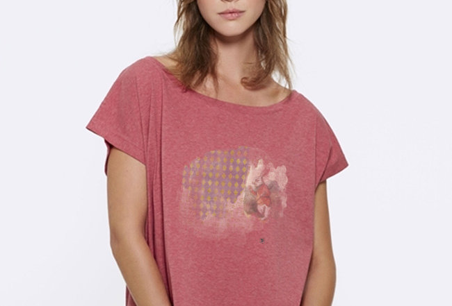 Oversize T-Shirt  - Rabbit Wunderland