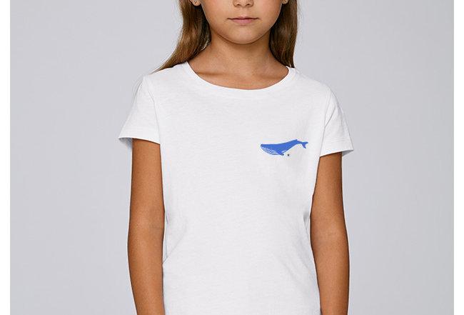 Hädnler Mädchen T-Shirt - Blauwal